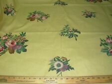 "~BTY~RALPH LAUREN~""FLORAL"" STURDY COTTON DRAPERY UPHOLSTERY FABRIC FOR LESS~"