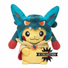 POKEMON PIKACHU VESTITO DA MEGA LUCARIO PELUCHE PUPAZZO dress cosplay plush doll