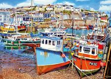 Gibsons - 1000 PIECE JIGSAW PUZZLE - Mevagissey Harbour