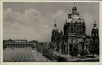 Berlin AK ~1920/30 Lustgarten Dom Altes Museum Serie Novobrom Church Cathedral