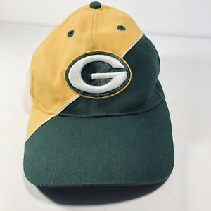 Green Bay Packers NFL Adjustable Hat Cap Green Gold
