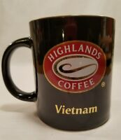 Highlands Coffee Tea Cocoa Mug Ceramic Cup 8oz Vietnam Coffee Chain Rare