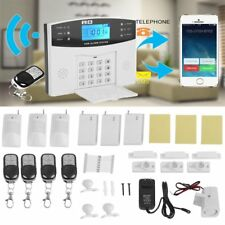 New Wireless Wired LCD GSM Home House Alarm System Security Burglar Sensors VP
