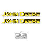 John Deere Premium Vinyl Decal / Sticker 2-Pack - Farming Equipment Decal For Sale