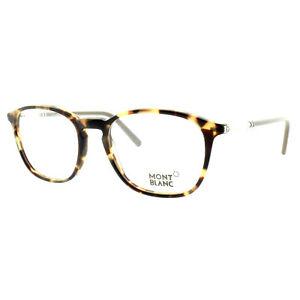 Montblanc MB0539 056 Havana Square Optical Frames Eyeglasses