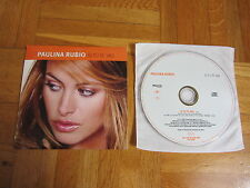 PAULINA RUBIO Si Tu Te Vas SPAIN collectors CD single