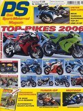 PS0510 + Fahrberichte YAMAHA YZF-R1 (RN12) + DUCATI 750 Sport/1000 + PS 10/2005