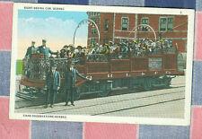 Old Postcard Canada Sight-Seeing Car Quebec Interesting  Unused
