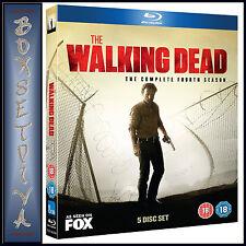 THE WALKING DEAD - COMPLETE SEASON 4  ***BRAND NEW BLU-RAY**