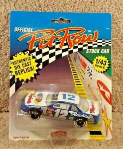 New 1992 Official Pit Row 1:43 Diecast NASCAR Hut Stricklin Raybestos Chevy #12