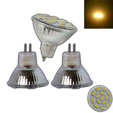 3x MR11 GU4 LED 4 Watt 12V AC/DC warmweiss Birne Lampe Leuchtmittel Halogen