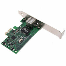 Gigabit RJ45 Ethernet LAN Network PCI-E with custom MAC address change spoof