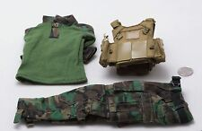 1/6 Easy Simple Marsoc MSOT Sniper MBAV Vest Drifire Uniform Lot *TOY*