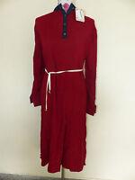 b14e7263402453 Neue Refka Damen Tunika Elbise Tesettür Kleid Gr. 42 Bordeaux Langarm  NEU OVP