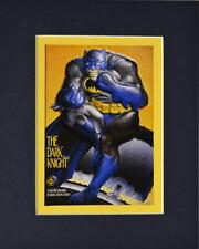 BATMAN The Dark Knight PROMO PRINT PROFESSIONALLY MATTED Frank Miller