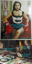 *SEXY* Monica Bellucci Signed 11x14 Boxing Gloves Photo EXACT Proof Matrix