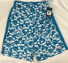 Nike Men'S Athletic Shorts Dri-Fit Color 100 Blue White 789978 Size S