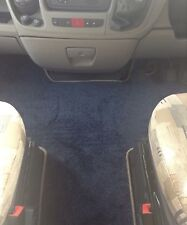 Fiat Ducato/Peugeot Boxer 07-14 Motorhome Tailor Made CabMat GRAPHITE/ROYAL BLUE