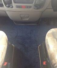 Fiat Ducato/Peugeot Boxer 07-14 Motorhome Tailor Made CabMat GRAPHITE/ROYAL BLUE