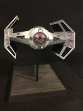 Star Wars  Darth Vader's Tie Fighter Model MPC- FULLY BUILT & PAINTED + LIGHTING