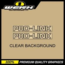 86 CR 125 250 500 Pro Link Blue on Clear 1986 87 85