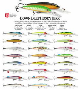 Rapala Down Deep Husky Jerk // DHJ12 // 12cm 15g Fishing Lures (Various Colors)