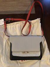 marni trunk  Pochette Leather Bag
