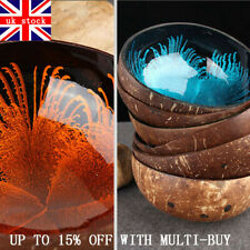 Natural Coconut Hard Shell Bowl Dishes Handmade Kitchen Key Candy Nut Home Decor
