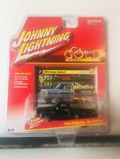 1/64 JOHNNY LIGHTNING CLASSIC GOLD 1978 DODGE WARLOCK PICKUP TRUCK  BLACK