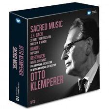 OTTO KLEMPERER/+ - GEISTLICHE MUSIK 8 CD KLASSIK NEU BACH/HÄNDEL/BEETHOVEN
