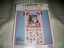 "BUCILLA*CHRISTMAS CROSS~STITCH KIT ""TOY*SHOPPE"" ADVENT CALENDAR ~ NIP"
