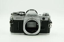 Canon AE-1 SLR Film Camera Body Chrome AE1                                  #105
