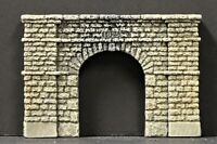 """4159B Single Track Tunnel Portal HO Scale """"HSM"""" Finely Detailed"""