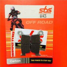 Honda CRM 80 89 > ON SBS Rear Carbon Silver Brake Pads OE QUALITY 604CS