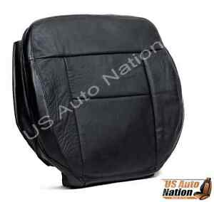 2004 2005 2006 Ford F150 FX4 4X4 4WD Driver Side Bottom Leather Seat Cover Black