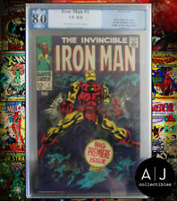 The Invincible Iron Man #1 PGX 8.0 (Marvel) HIGH RES PICTURES!