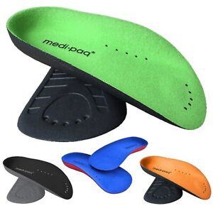 Orthotic Shoe Insoles Arch Support Plantar Fasciitis 3/4 Inserts Flat Feet UK