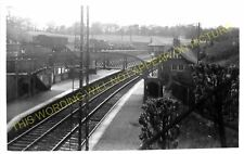 Whitecraigs Railway Station Photo. Patterton to Muirend and Clarkston Lines. (2)