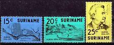Surinam 613-15 **, 125 Jahre Albina Stiftung