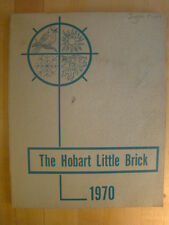 Hobart Indiana IN Junior High School 1970 Annual Year Book Little Brick Yearbook