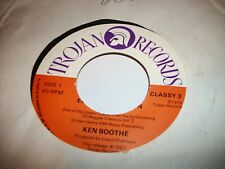 "KEN BOOTHE- EVERYTHING I OWN VINYL 7"" 45RPM - P JUKEBOX"