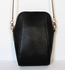 AMAZING BLACK  CELL PHONE SMALL SHOULDER BAG CROSSBODY POUCH!!!