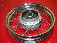 12tkm! Ruota Posteriore Molto Bel Cromo Cerchione JC29 JC31 Honda VT 125 Shadow