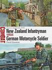 COMBAT - NEW ZEALAND INFANTRYMAN VS GERMAN MOTORCYCLE SOLDIER - 1914