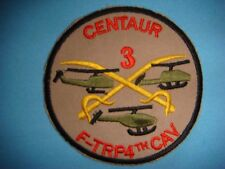 Vietnam War Patch, Us 3rd F-Troop 4th Cavalry Centaur