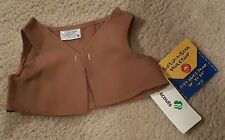 NWT NEW Build a Bear Brownie Girl Scout Brown Vest Clothes Girls Toys Holiday