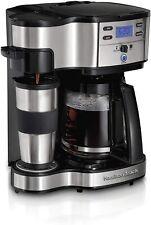 Hamilton Beach 2-Way Brewer Coffee Maker, Single-Serve and 12-Cup Pot- FREE SHIP