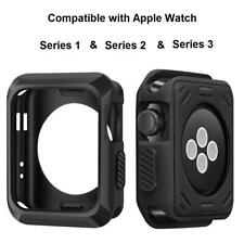 Montre Apple étui Protecteur d'écran pour 42 mm Rugged Noir iwatch accessoires NEUF