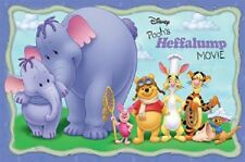 DISNEY WINNIE THE POOH HEFFALUMP MOVIE POSTER 22X34 NEW FREE SHIPPING