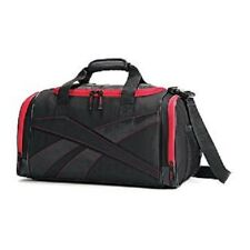 Reebok Reenew Duffel Bag Gym Fitness Workout Tote CYSP Black Motor Red